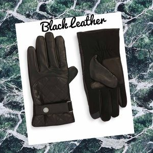 Polo by Ralph Lauren Accessories - (R) RALPH LAUREN▪️Men's Black Leather Gloves XL